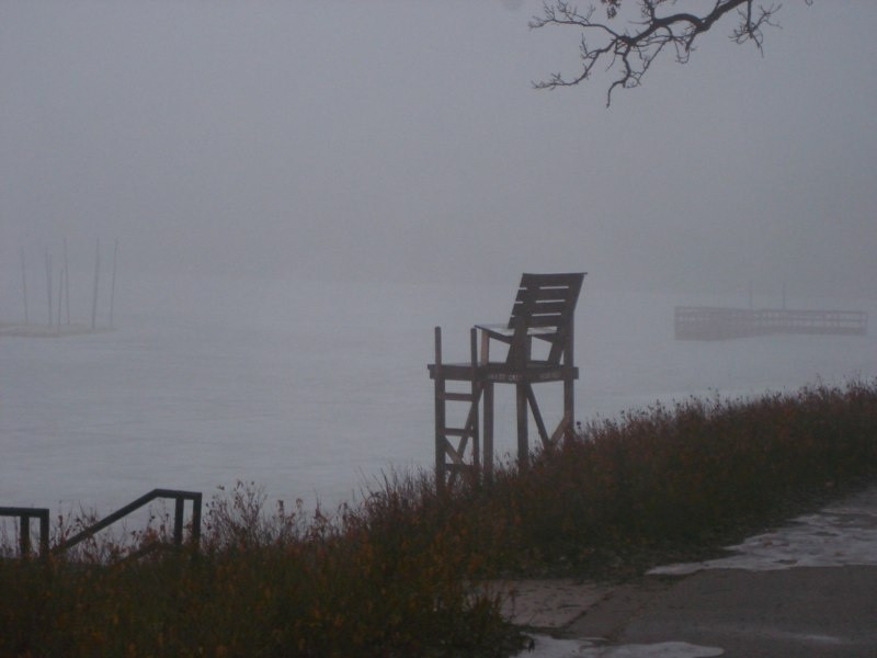 Lake Harriet Foggy Winter